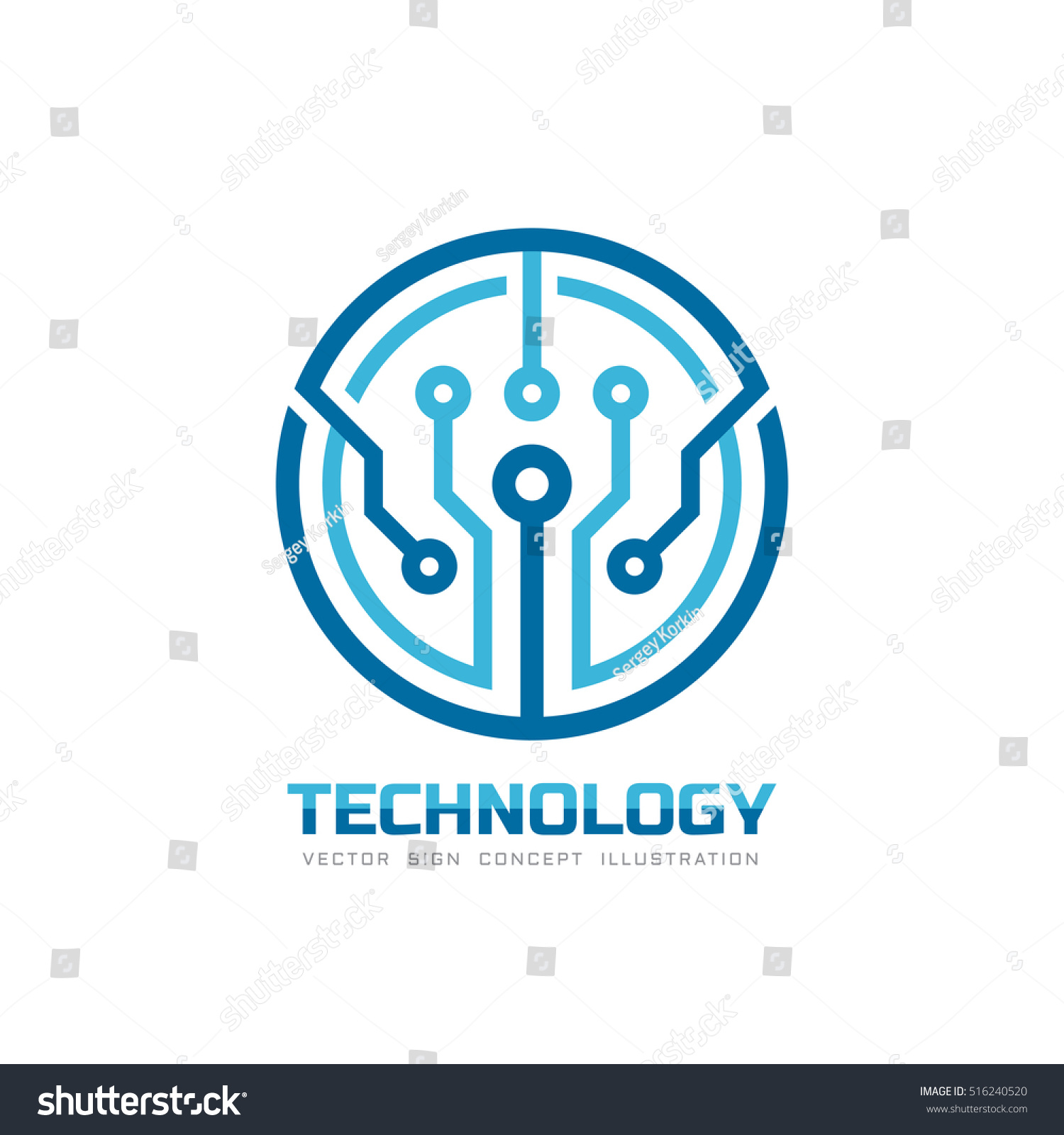 technology vector network sign internet identity corporate template shutterstock chip tech element illustration abstract vectors illustrations concept official