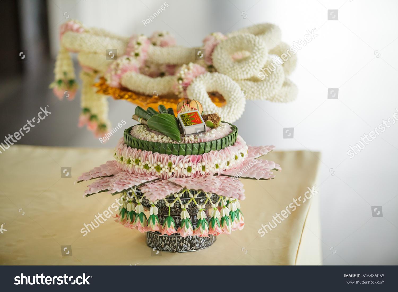 Royalty Free Thai Wedding Ceremony Traditional Groom 516486058