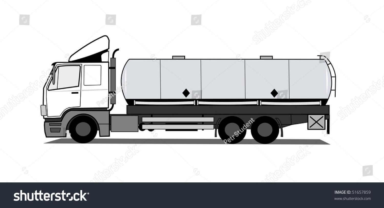 Tank truck stock vector 51657859 shutterstock