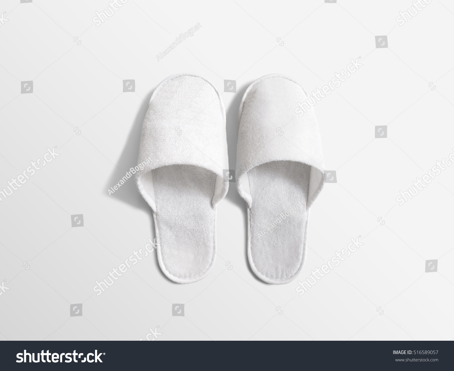 Mock ups of one bedroom two bedroom and three bedroom apartments - Pair Of Blank Soft White Home Slippers Design Mockup House Plain Flops Mock Up