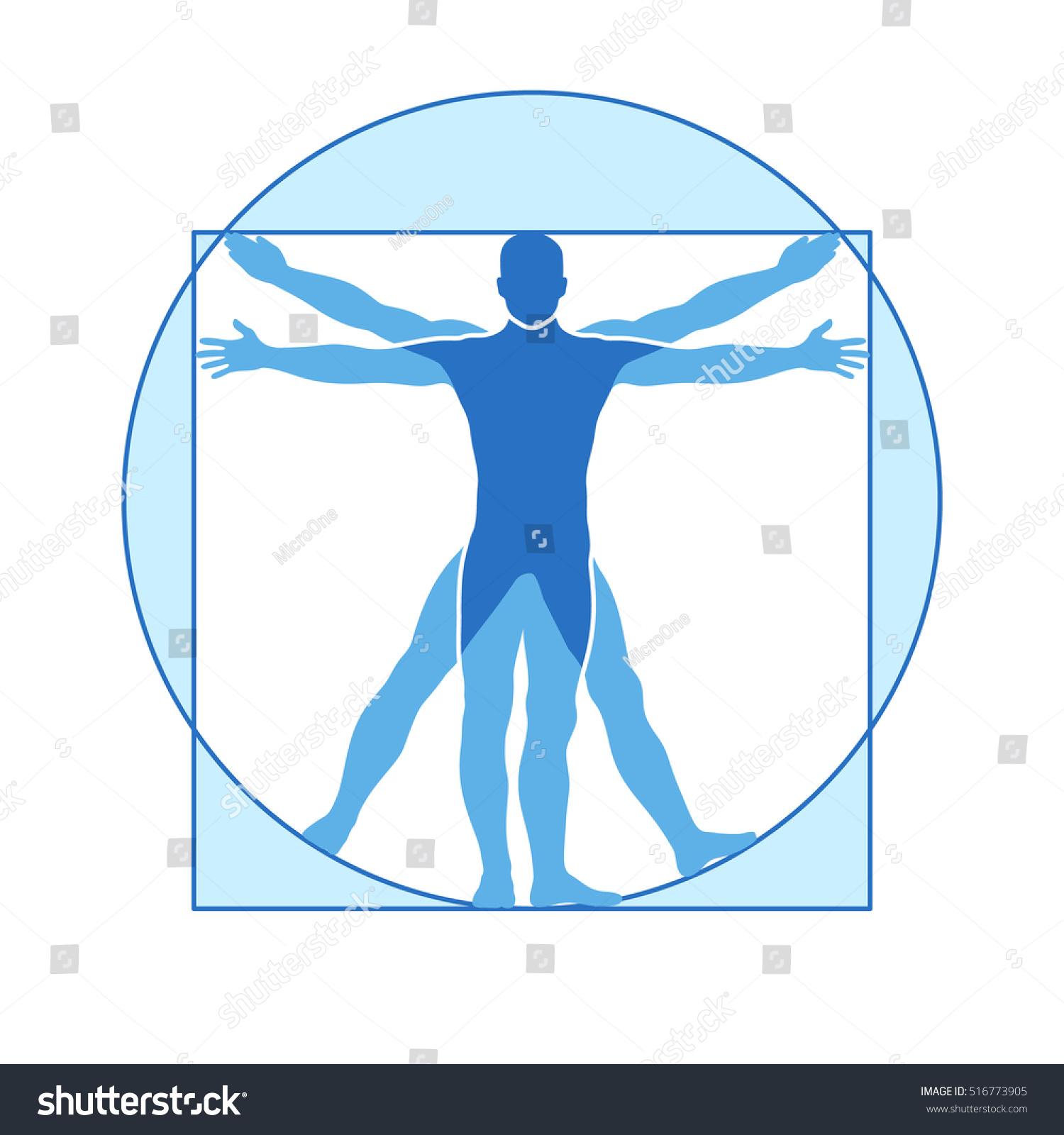 human body vector icon similar vitruvian stock vector royalty free 516773905 https www shutterstock com image vector human body vector icon similar vitruvian 516773905