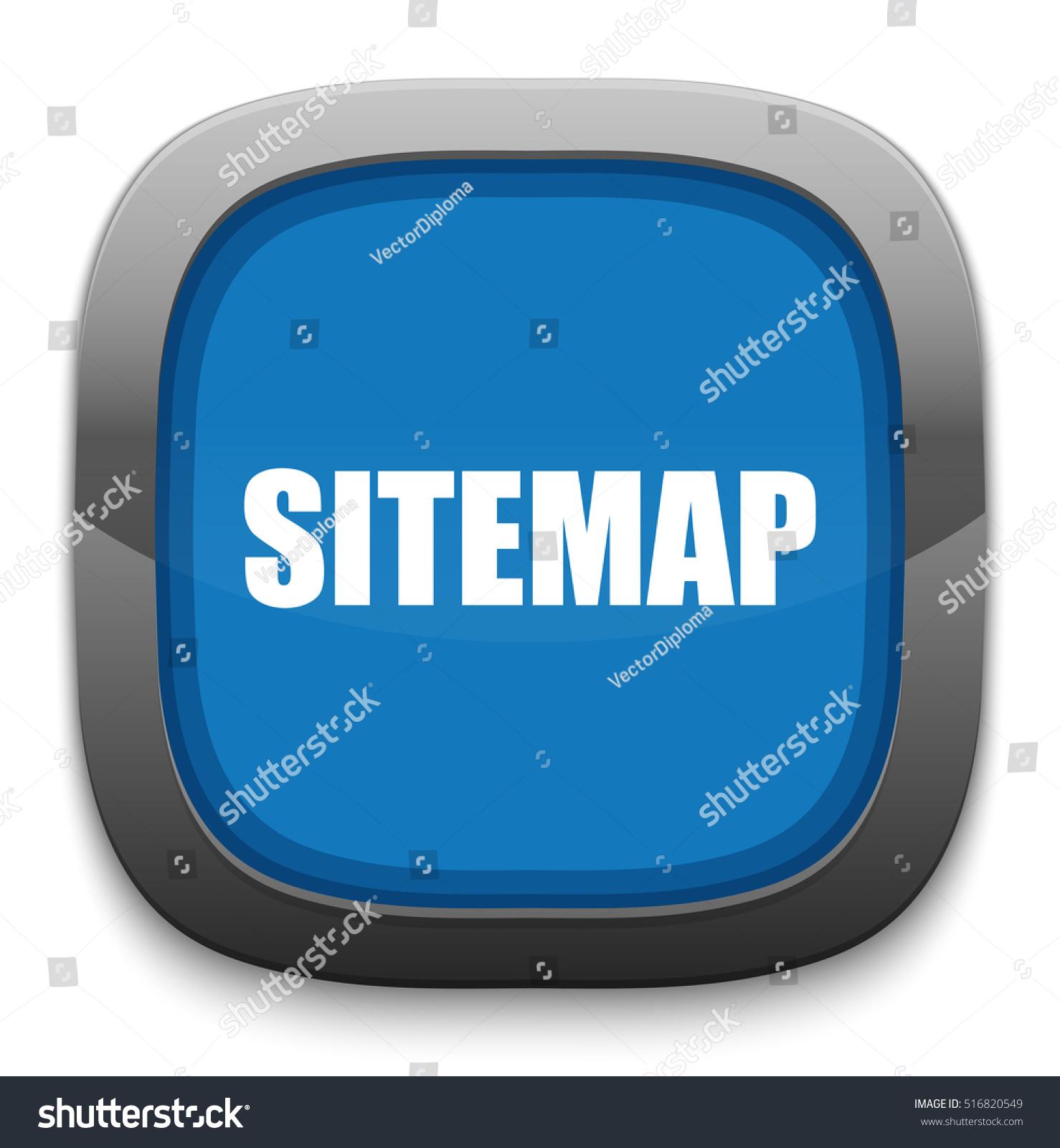 Sitemap: Sitemap Icon Stock Vector 516820549 : Shutterstock