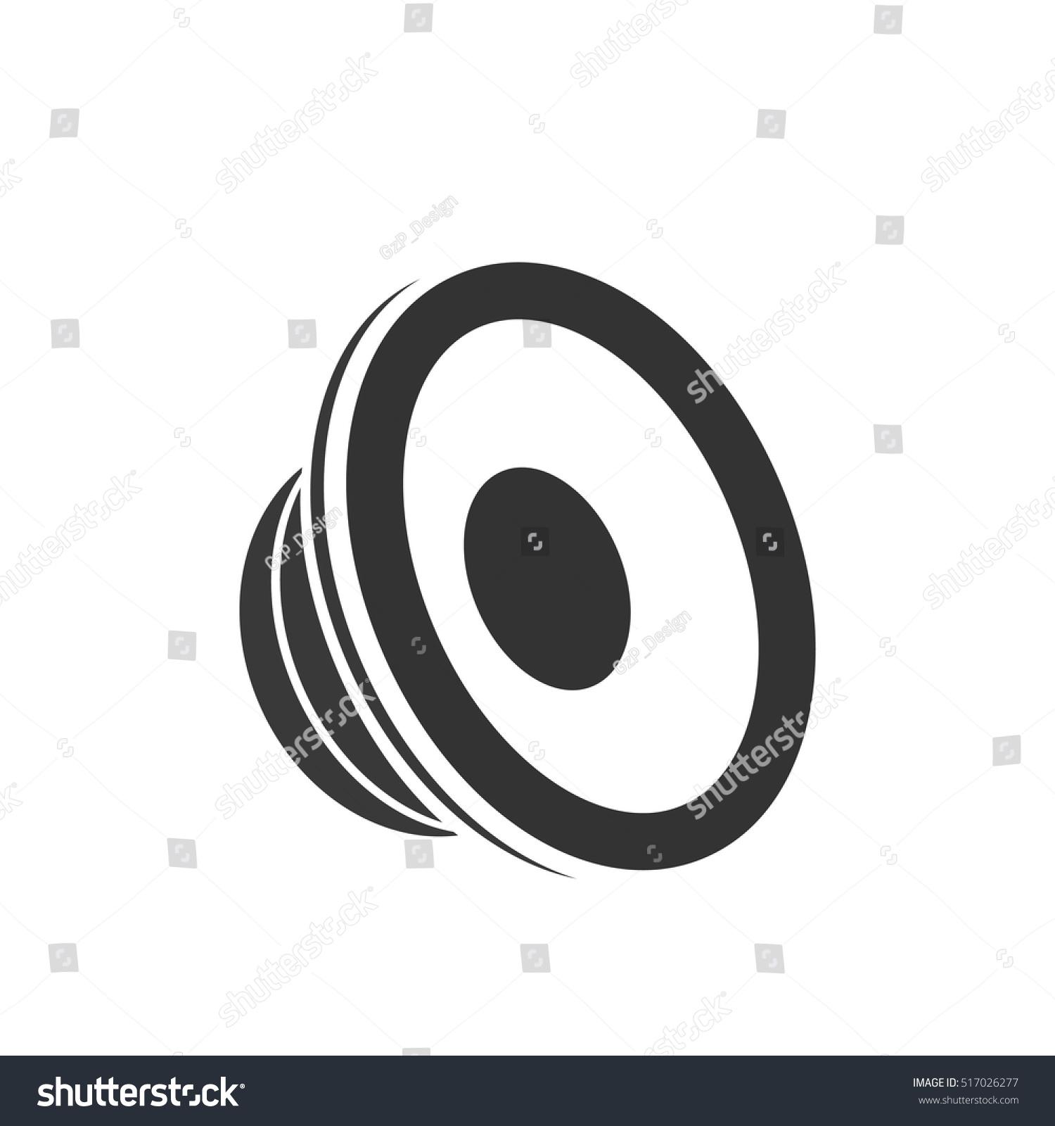 Speaker Icon Vector Illustration Stock Vector 517026277 - Shutterstock