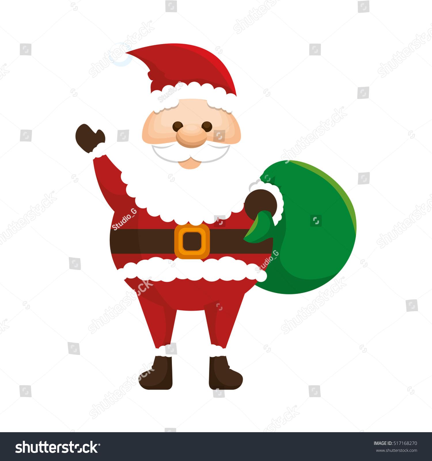 Uncategorized Imagenes Santa Claus santa claus character kawaii style stock vector 517168270 style