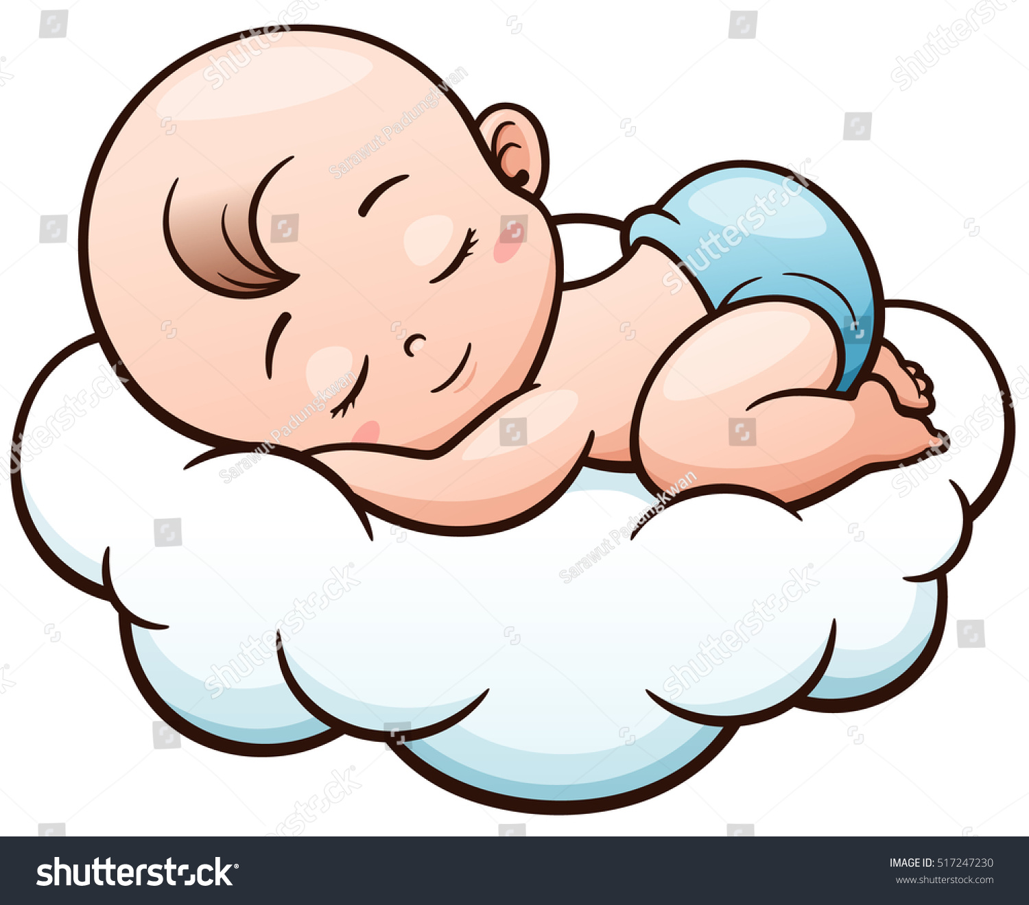 free clip art baby sleeping - photo #43