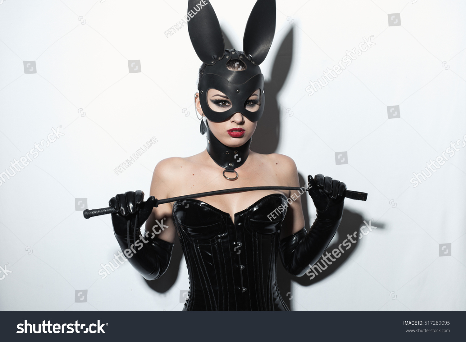 image Mistress with mask i know you