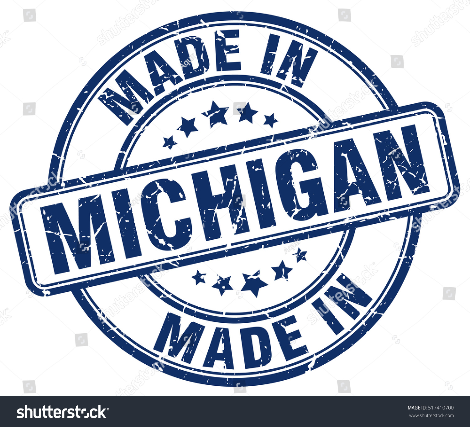 made michigan stamp stock vector 517410700 shutterstock. Black Bedroom Furniture Sets. Home Design Ideas