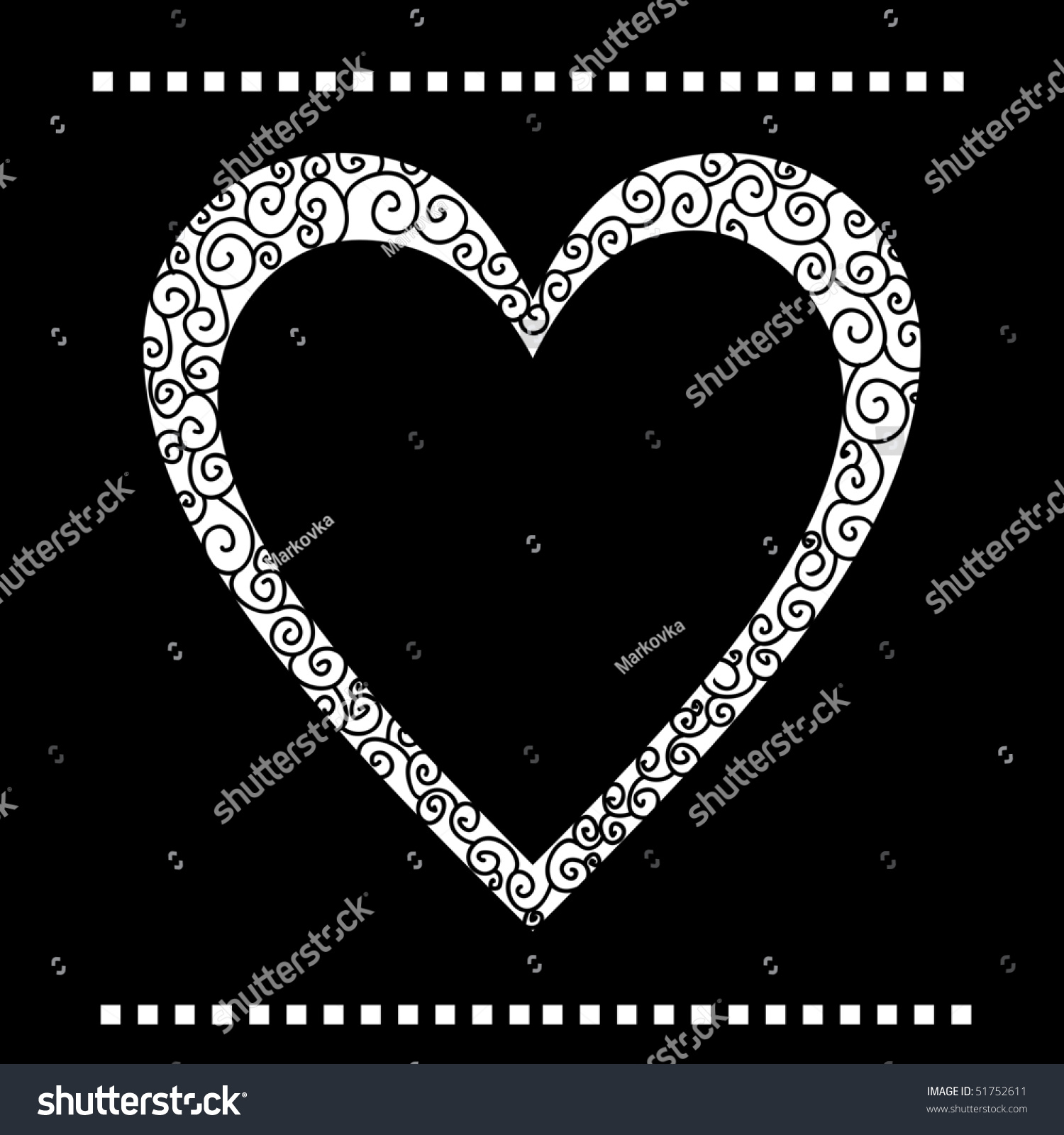 Greeting Card With Heart Vector Version Is In My Portfolio Ez Canvas