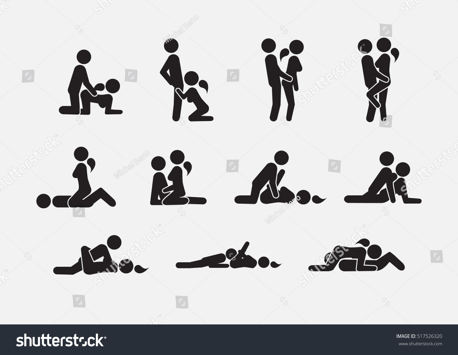 Sex position stick figures