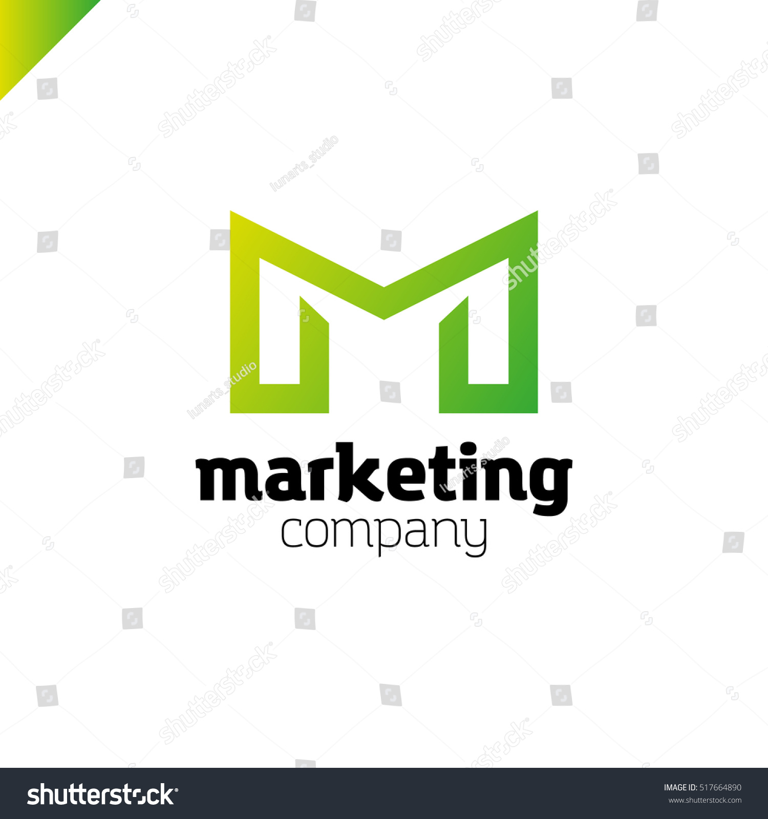 Letter m logo mm initials two stock vector 517664890 shutterstock letter m logo or mm initials two modern monogram symbol mockup black and white business magicingreecefo Images