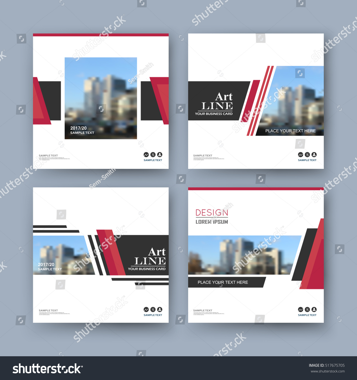 abstract position white a4 brochure cover stock vector