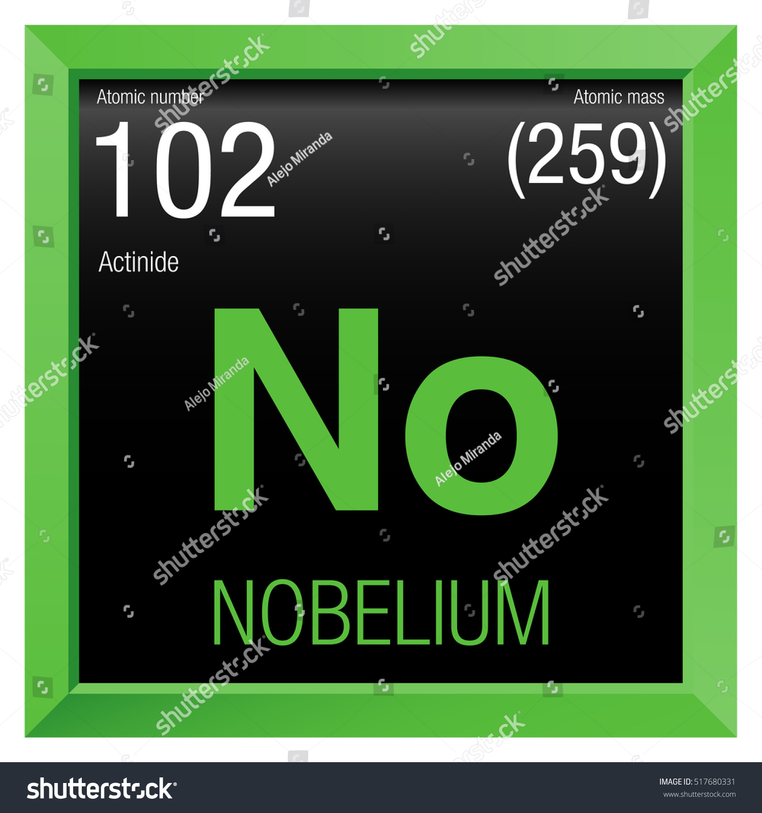 Chemical symbol for nobelium gallery symbol and sign ideas nobelium symbol element number 102 periodic stock vector 517680331 nobelium symbol element number 102 of the buycottarizona