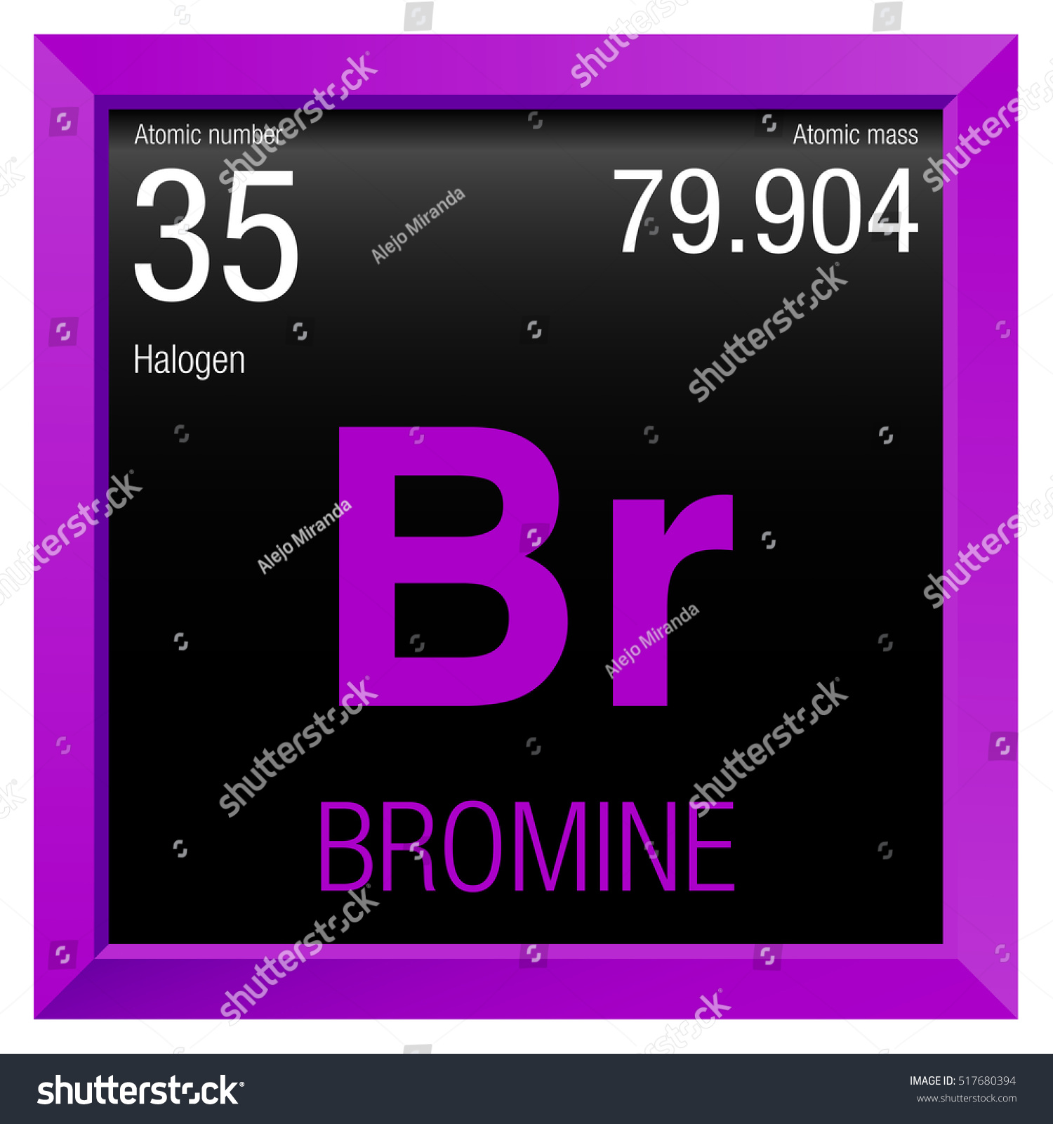 35 element periodic table image collections periodic table images bromine symbol element number 35 periodic stock vector 517680394 element number 35 of the periodic table gamestrikefo Images