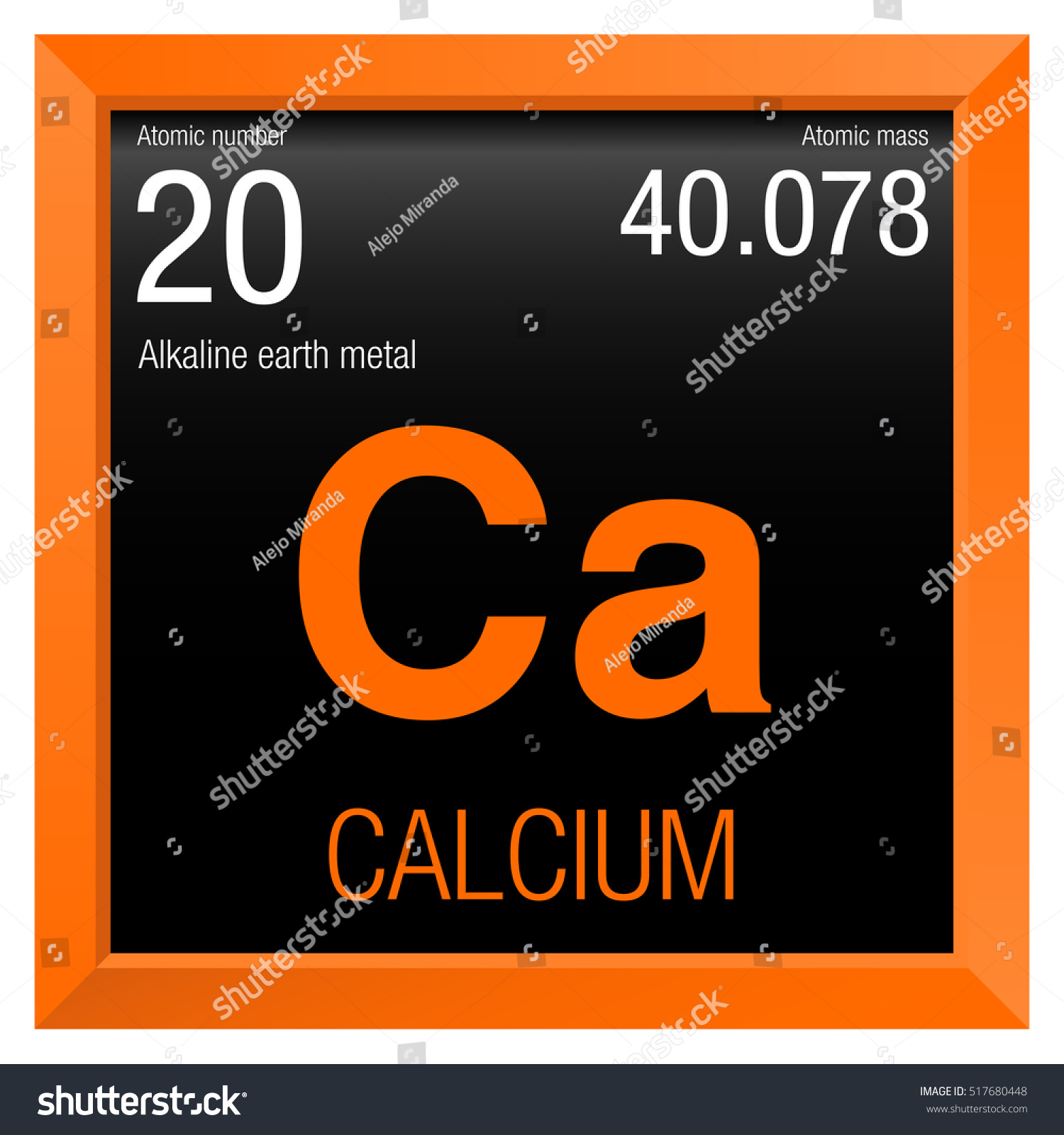 Calcium symbol element number 20 periodic stock vector 517680448 calcium symbol element number 20 of the periodic table of the elements chemistry buycottarizona Image collections