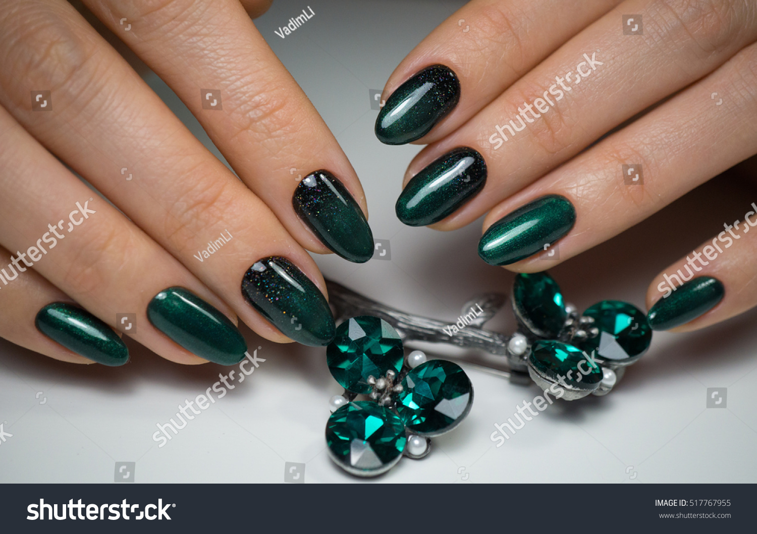 Beauty Natural Nails Perfect Clean Manicure Stock Photo (Download ...