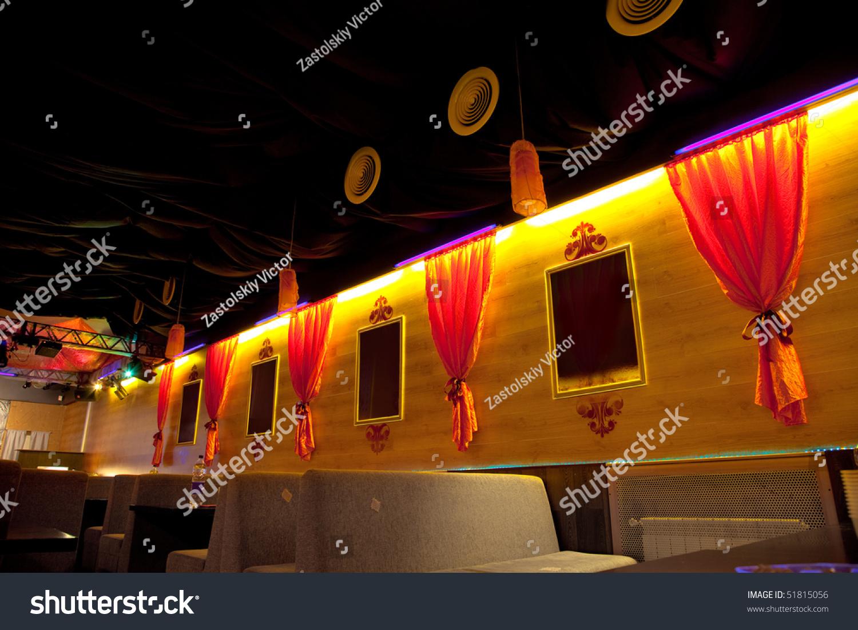 Night club restaurant interior photo  shutterstock