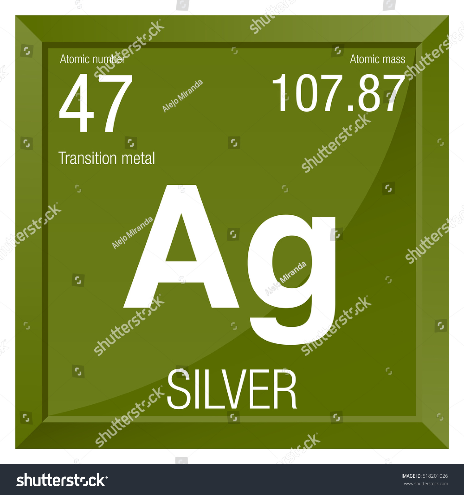 Element silver symbol gallery symbol and sign ideas silver symbol element number 47 periodic stock vector 518201026 silver symbol element number 47 of the urtaz Gallery