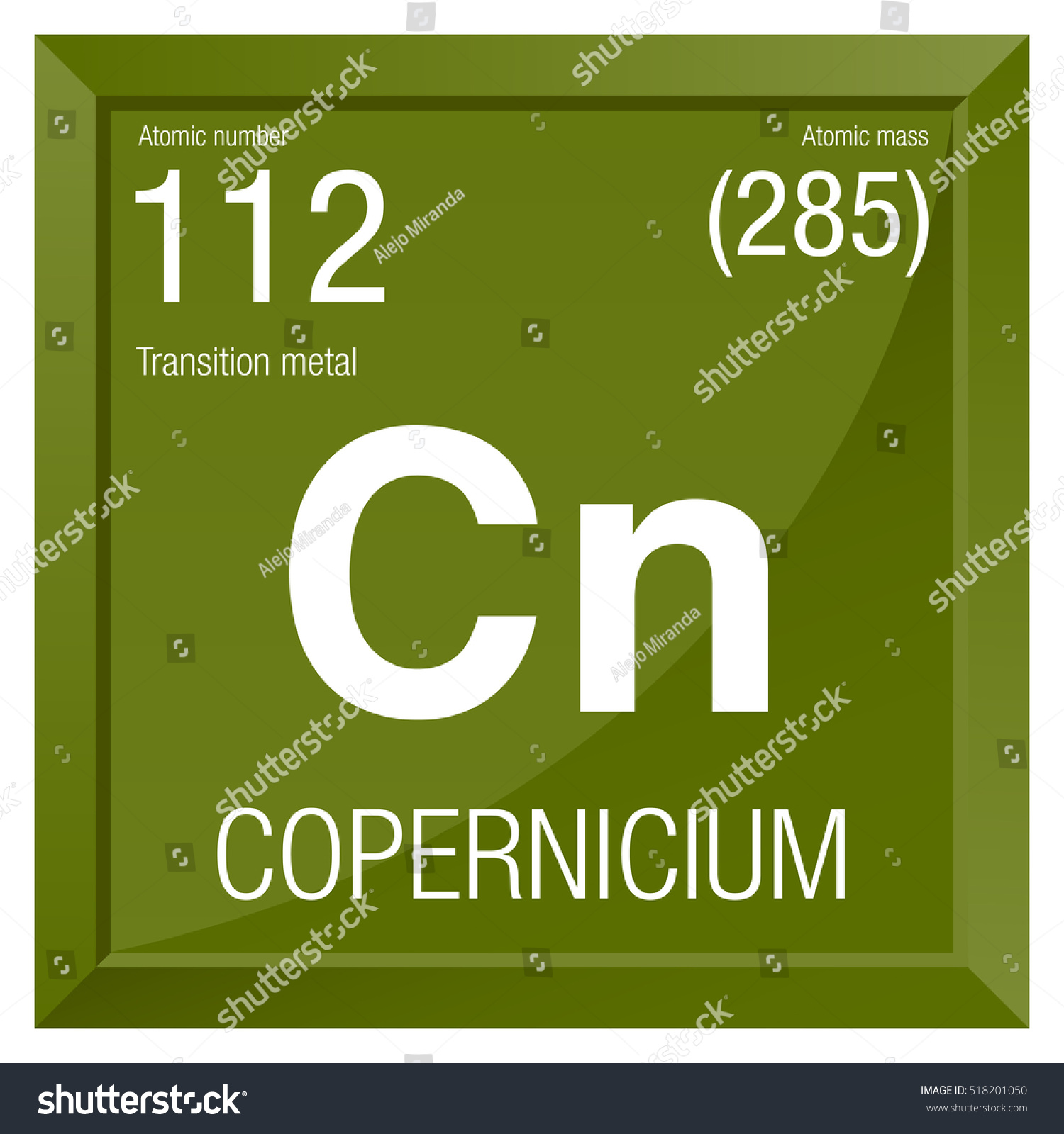 Copernicium symbol element number 112 periodic stock vector element number 112 of the periodic table of the elements chemistry gamestrikefo Image collections