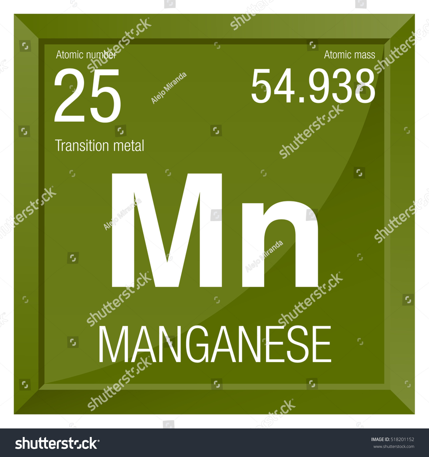 Manganese symbol element number 25 periodic stock vector 518201152 manganese symbol element number 25 of the periodic table of the elements chemistry gamestrikefo Images