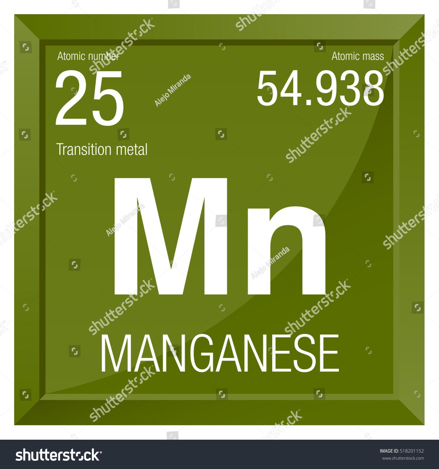 Manganese symbol element number 25 periodic stock vector 518201152 element number 25 of the periodic table of the elements chemistry gamestrikefo Choice Image