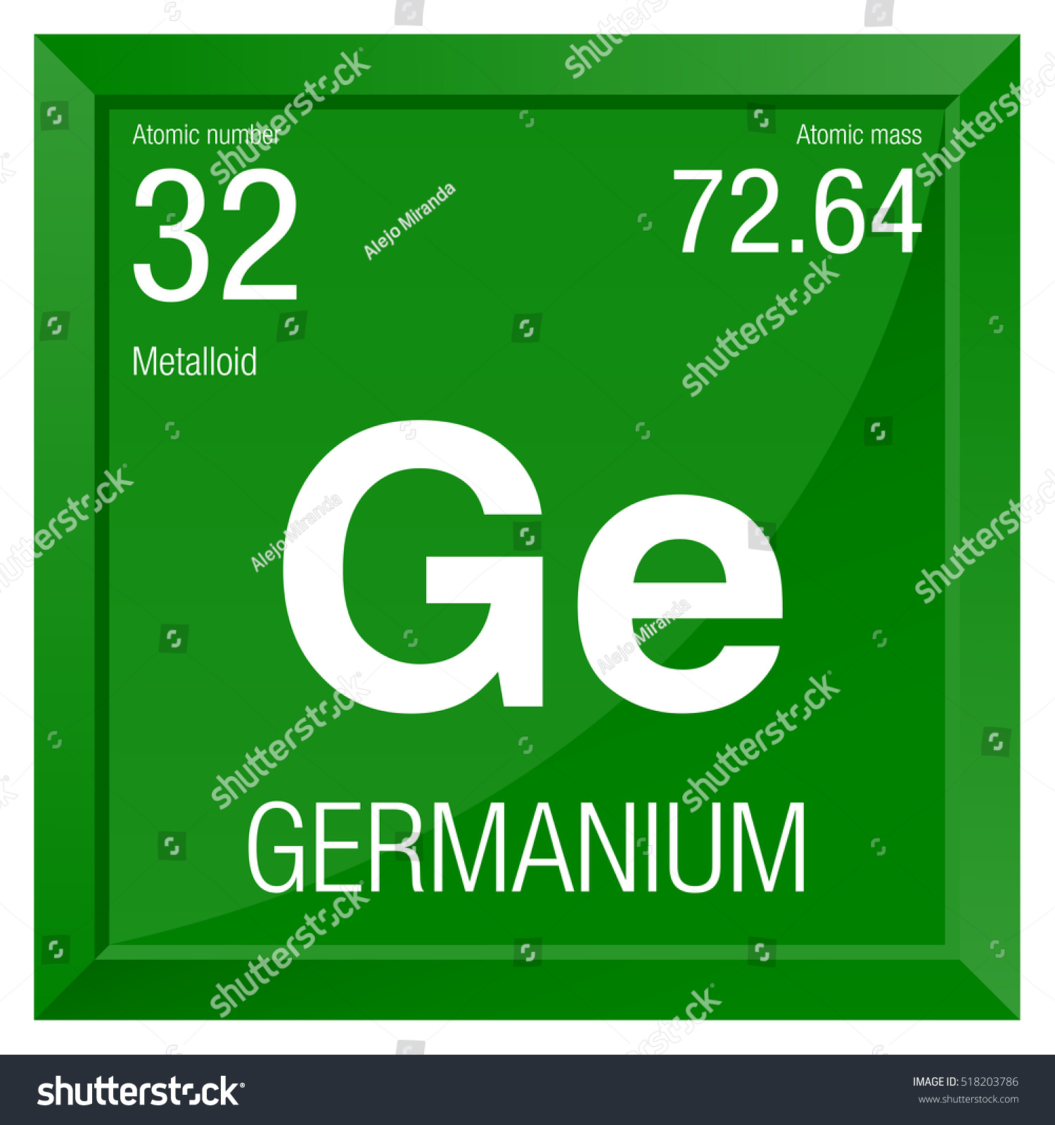 Germanium symbol element number 32 periodic stock vector 518203786 germanium symbol element number 32 of the periodic table of the elements chemistry biocorpaavc Gallery