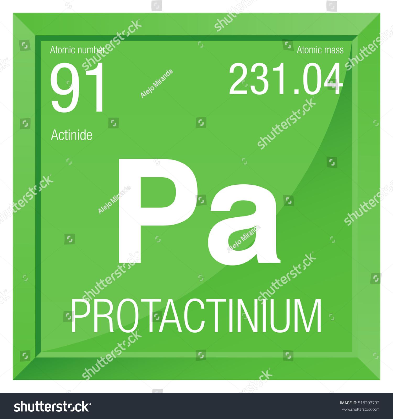 Protactinium symbol element number 91 periodic stock vector 2018 protactinium symbol element number 91 of the periodic table of the elements chemistry urtaz Choice Image