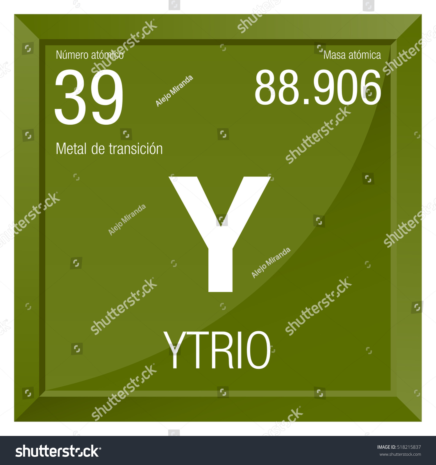 Y periodic table image collections periodic table images ytrio symbol yttrium spanish language element stock vector ytrio symbol yttrium in spanish language element number gamestrikefo Choice Image