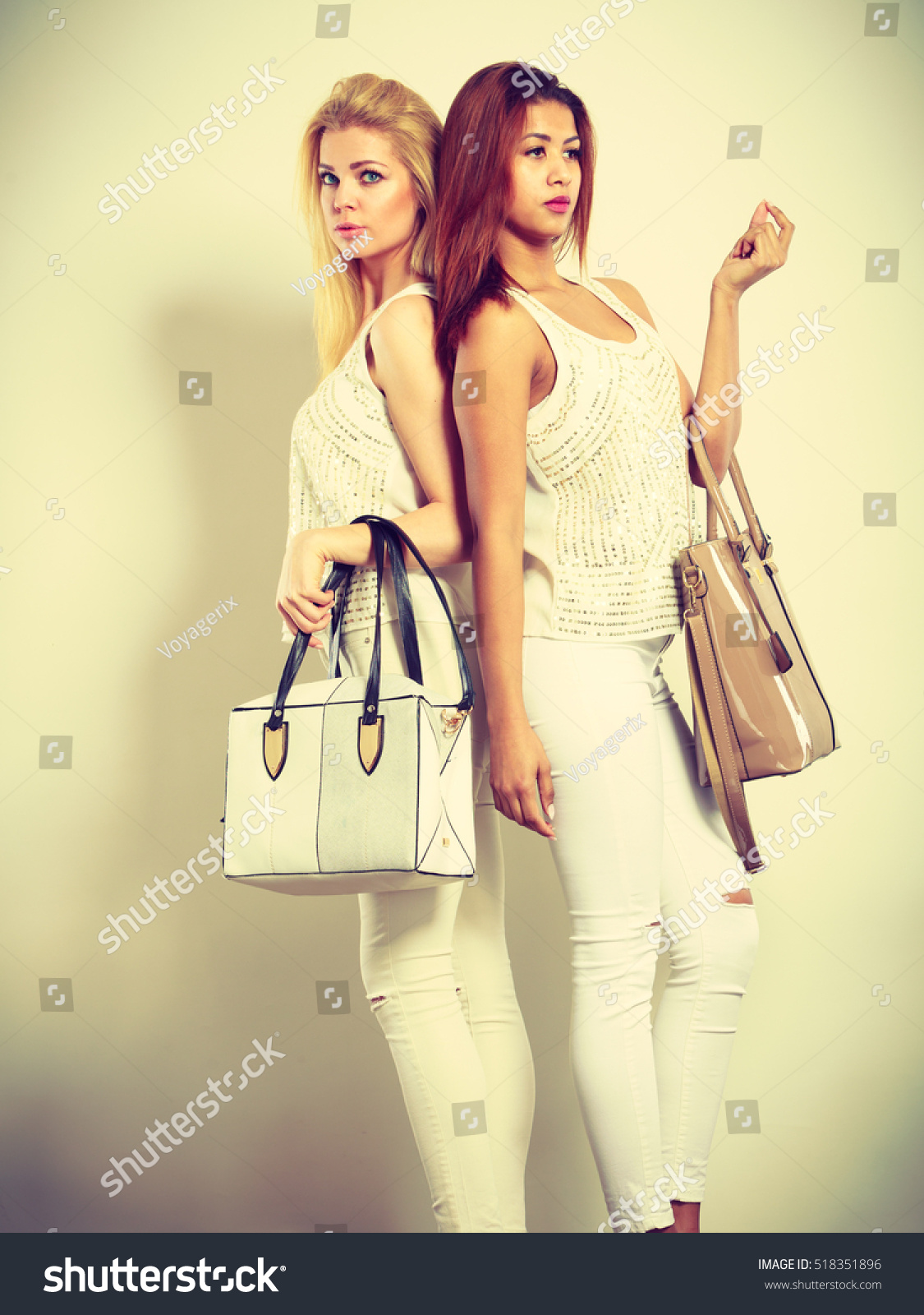 Fashion Accessories Clothing Ladies Shot Two Stock Photo ...