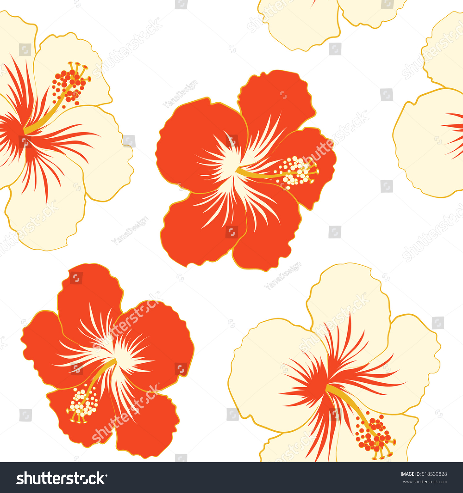 Aloha Hawaii Luau Party Invitation On Stock Vector (Royalty Free ...