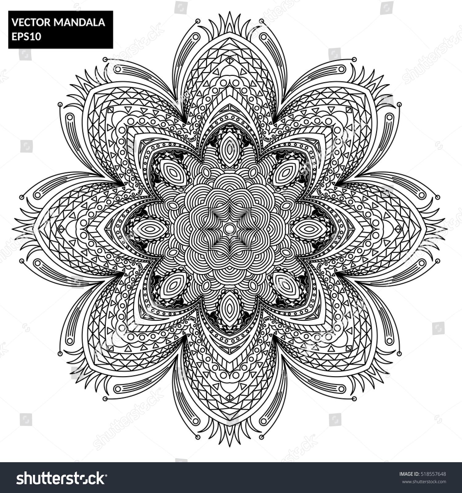 Ausgezeichnet Mandala Floral Bilder - Malvorlagen Von Tieren - ngadi ...