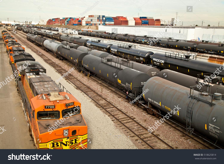 Wilmington California November 19 2016 Bnsf Stock Photo Edit Now