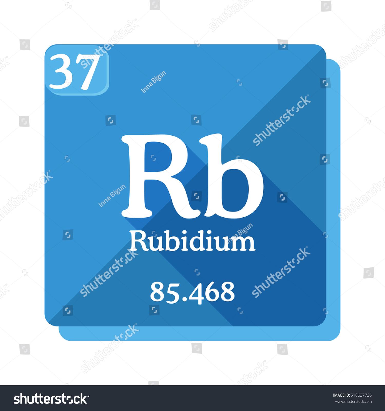 Rubidium periodic table choice image periodic table images rubidium rb element periodic table flat stock vector 518637736 rubidium rb element of the periodic table gamestrikefo Gallery