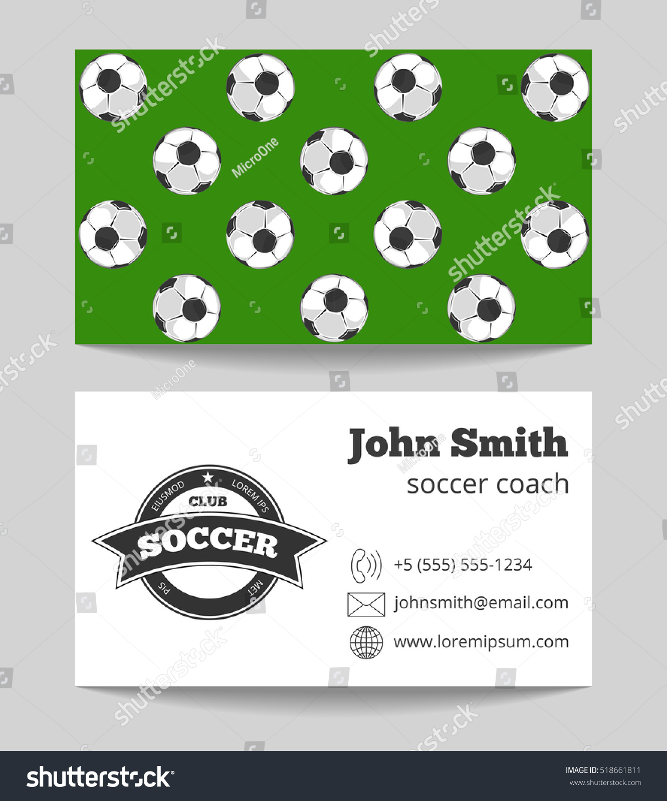 Lovely Soccer Card Template Images - Example Resume Templates ...