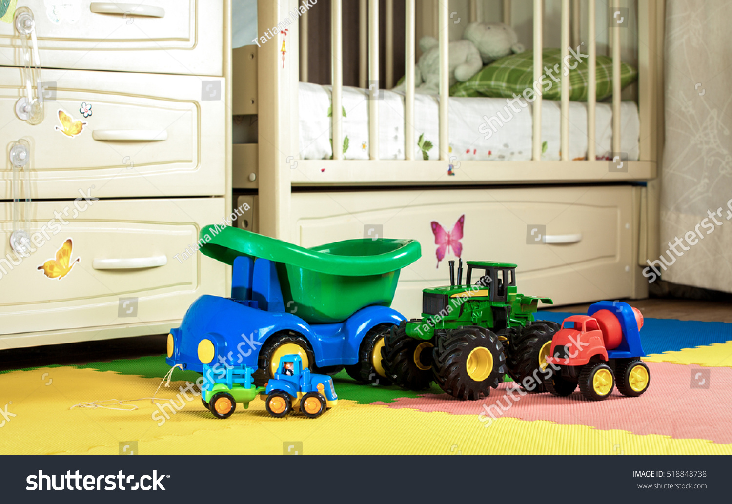 Boy Toys Are In His Room Stock Photo 518848738 Shutterstock