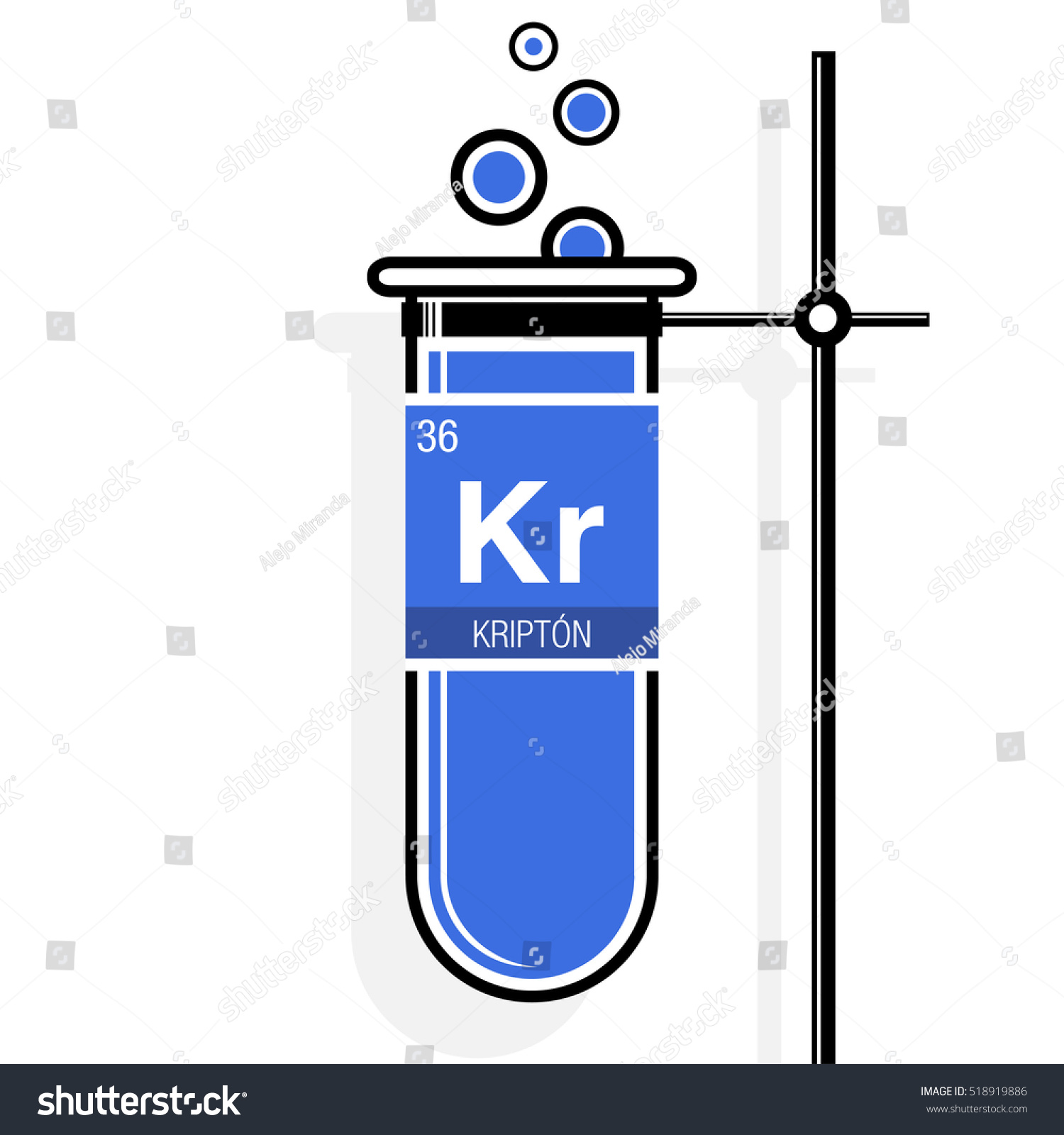 Krypton symbol krypton spanish language on stock vector 518919886 krypton symbol krypton in spanish language on label in a blue test tube with buycottarizona