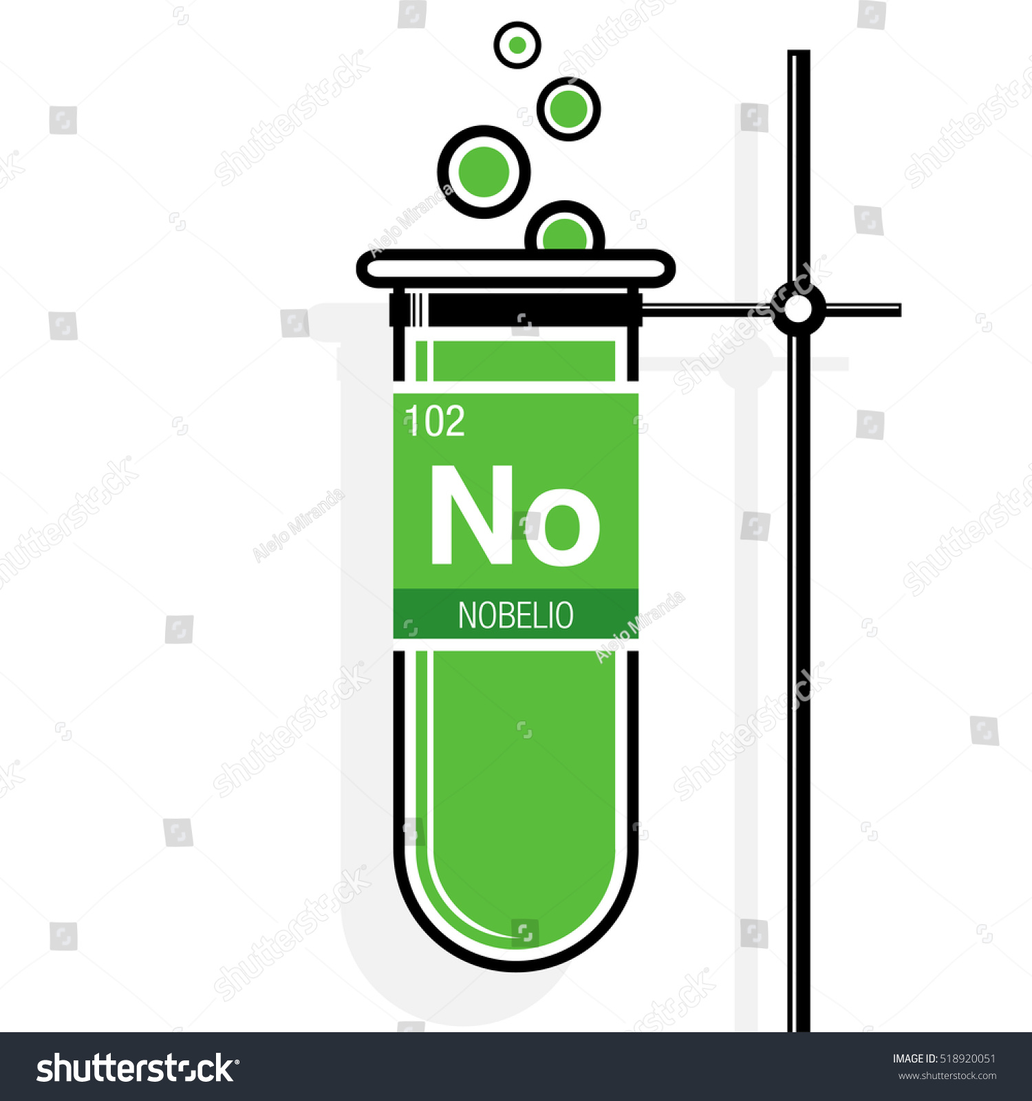 Nobelio symbol nobelium spanish language on stock vector 518920051 nobelio symbol nobelium in spanish language on label in a green test tube with buycottarizona