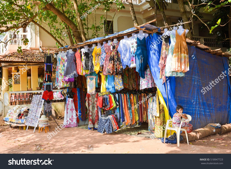 Beach clothing store