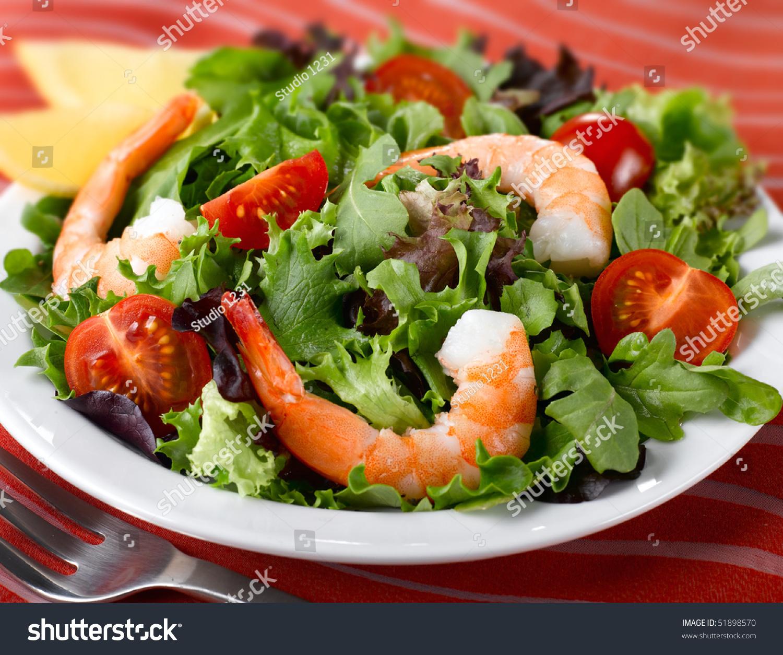 Рецепты салата с креветками фото пошагово