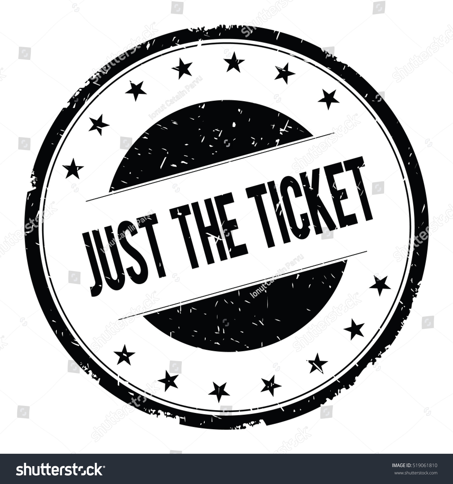 just ticket stamp sign text word stock illustration 519061810 just the ticket stamp sign text word logo black