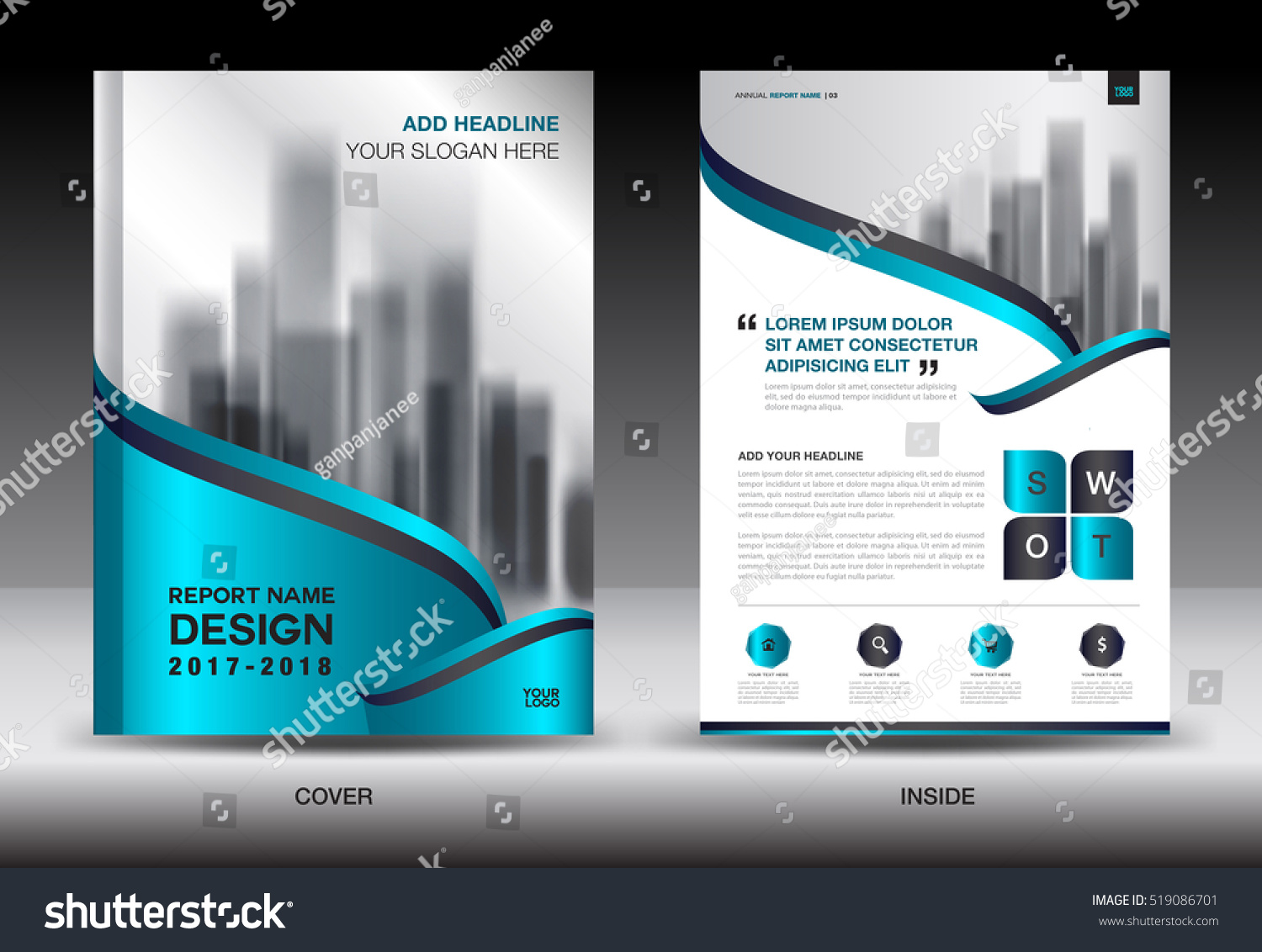 annual report brochure flyer template blue cover design business annual report brochure flyer template blue cover design business flyer advertisement book