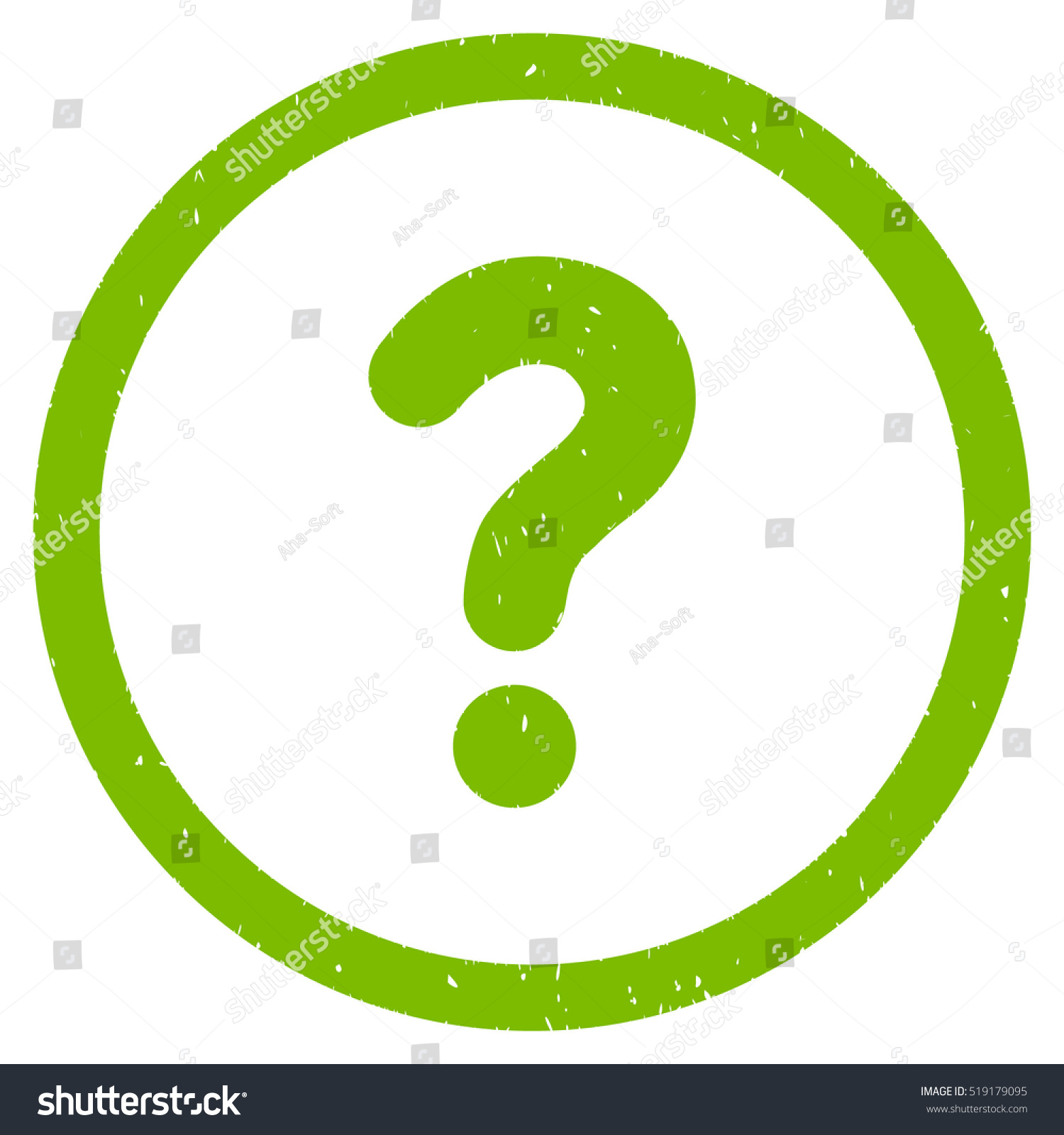Question Rubber Seal Stamp Watermark Icon Stock Illustration