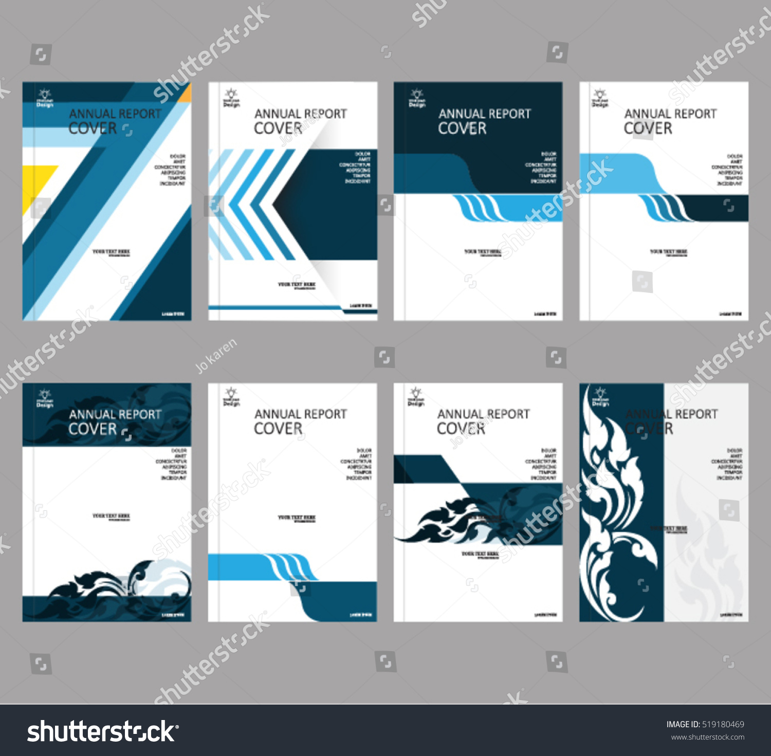 annual business report cover template booklet stock vector annual business report cover template booklet brochure cover poster presentation business