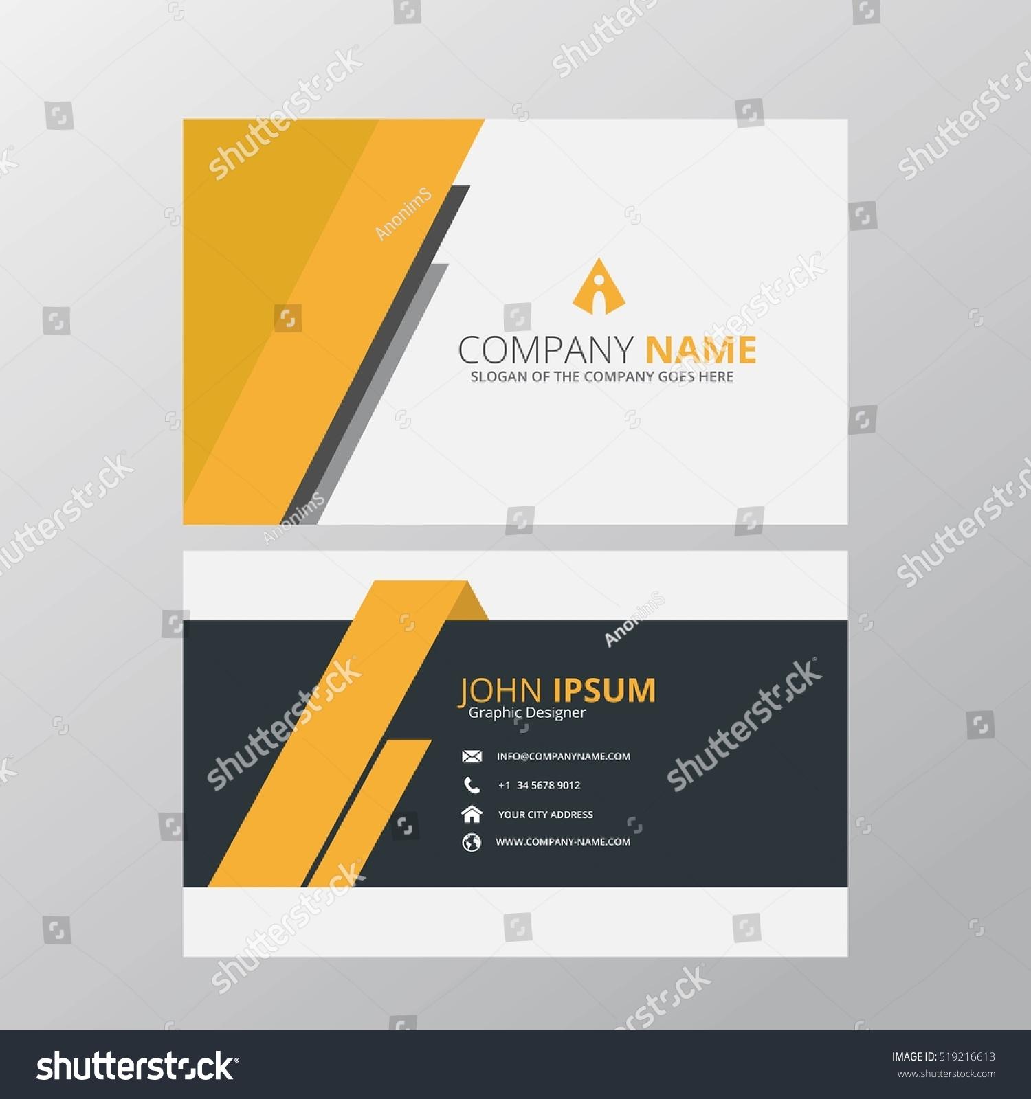 business card website template eliolera