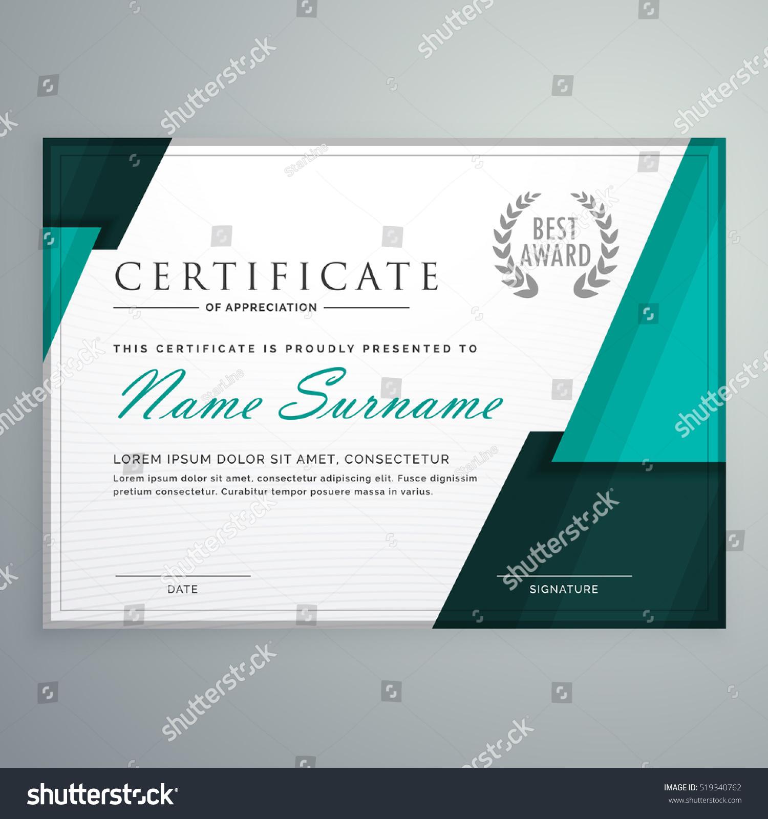 Edit Vectors Free Online Modern Certificate