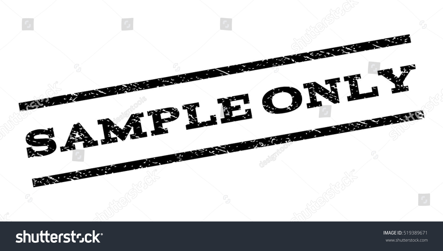 sample only watermark stamp text tag stock vector (royalty free