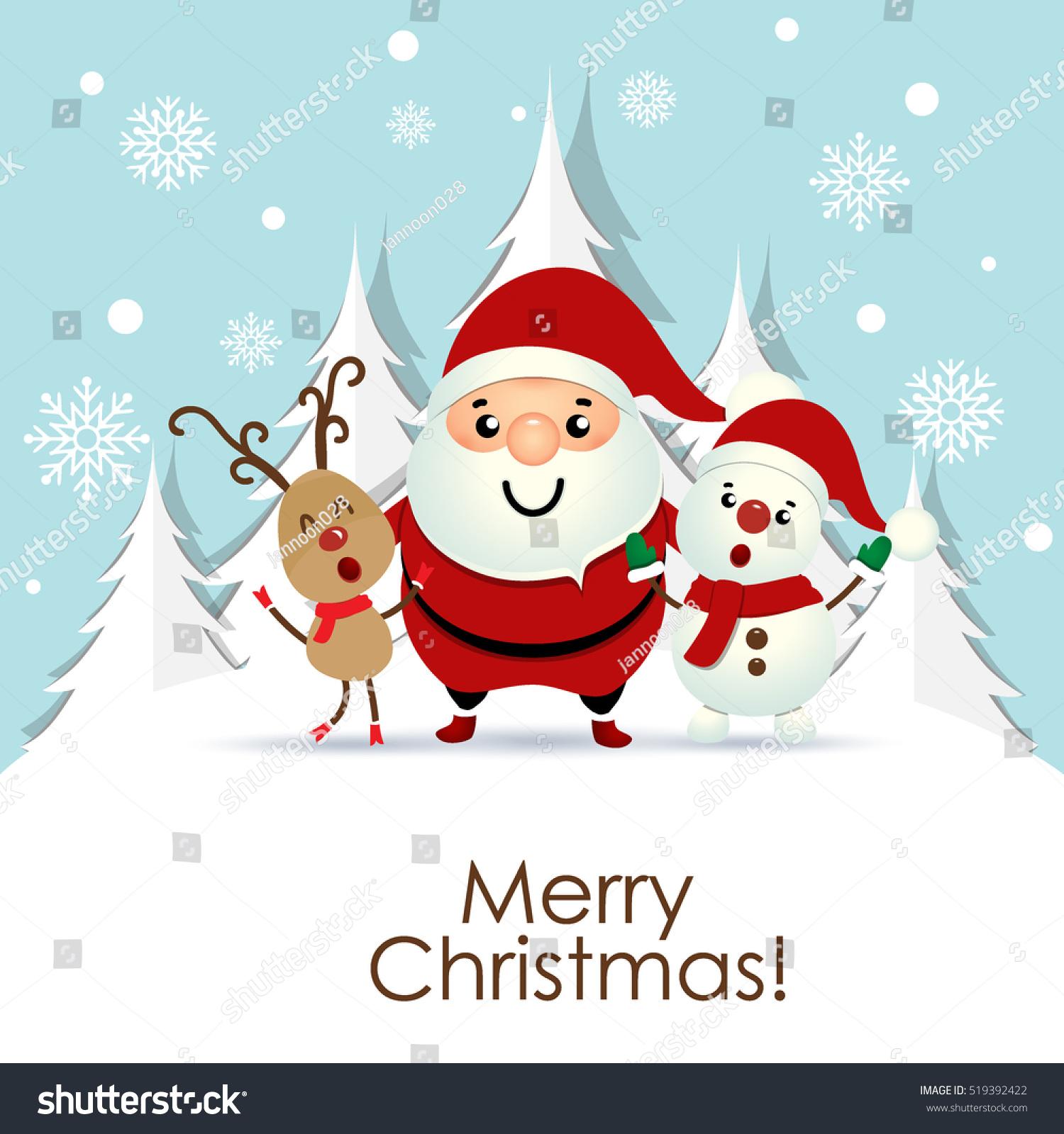 Similar Images Stock Photos Vectors Of Christmas Greeting Card