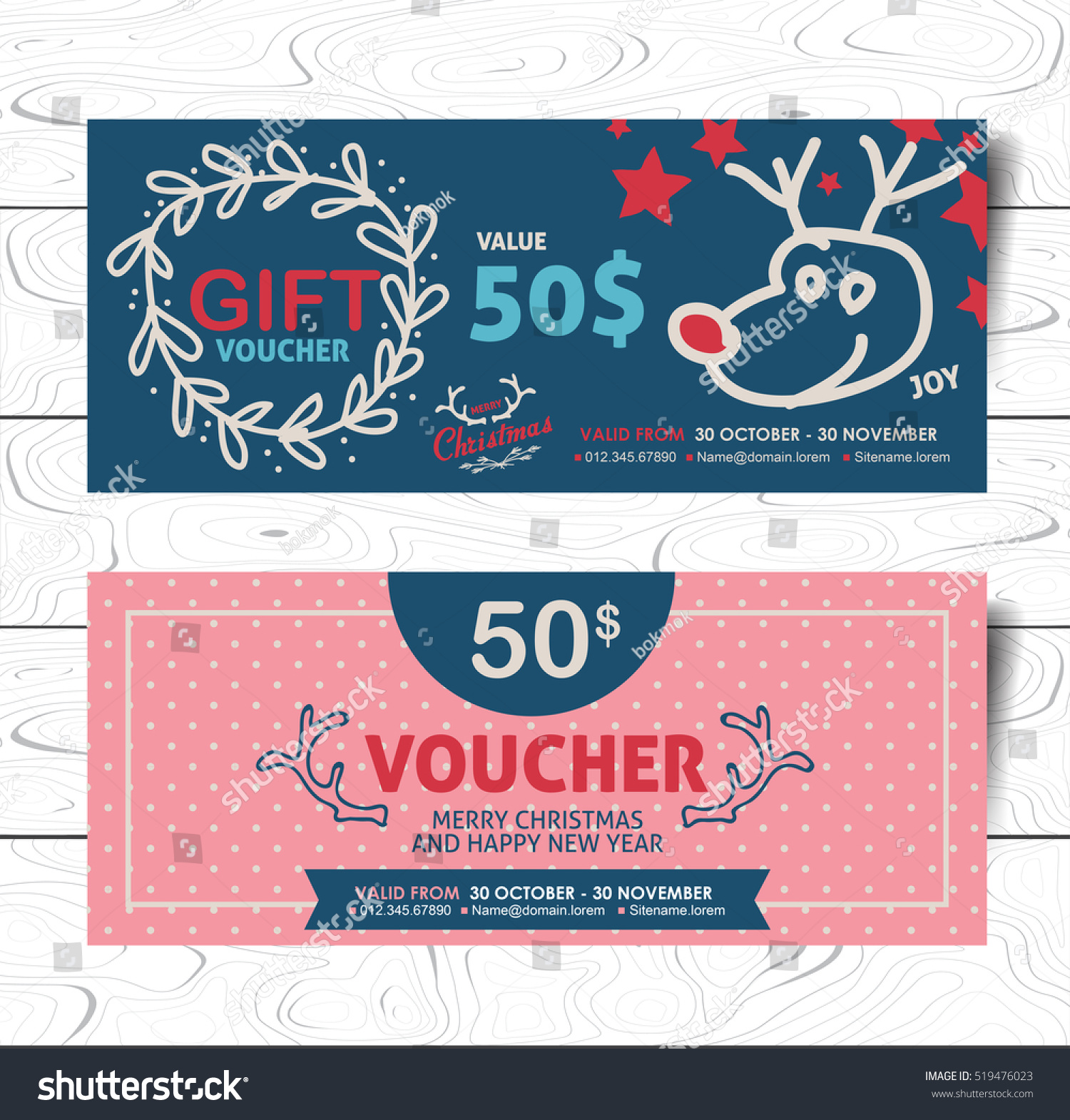 Christmas Certificate Templates