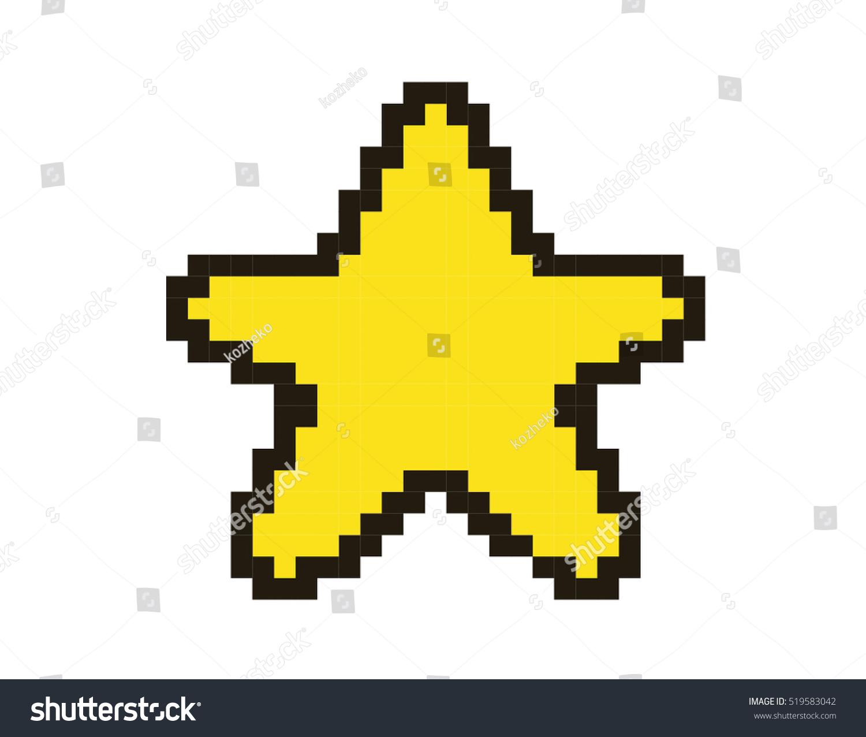 Star Pixel Art – BRIK  |Pixel Star
