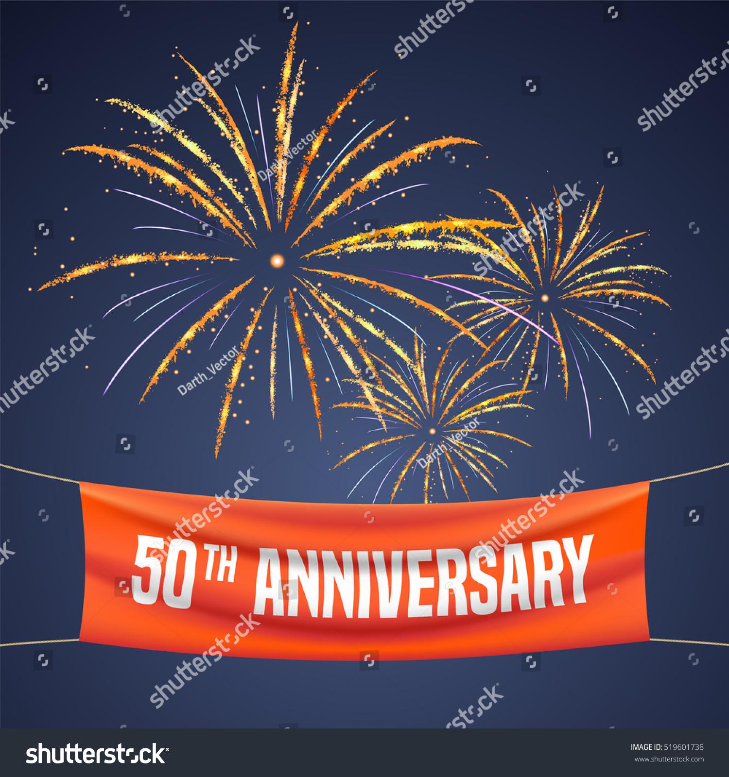 Years anniversary vector illustration banner stock