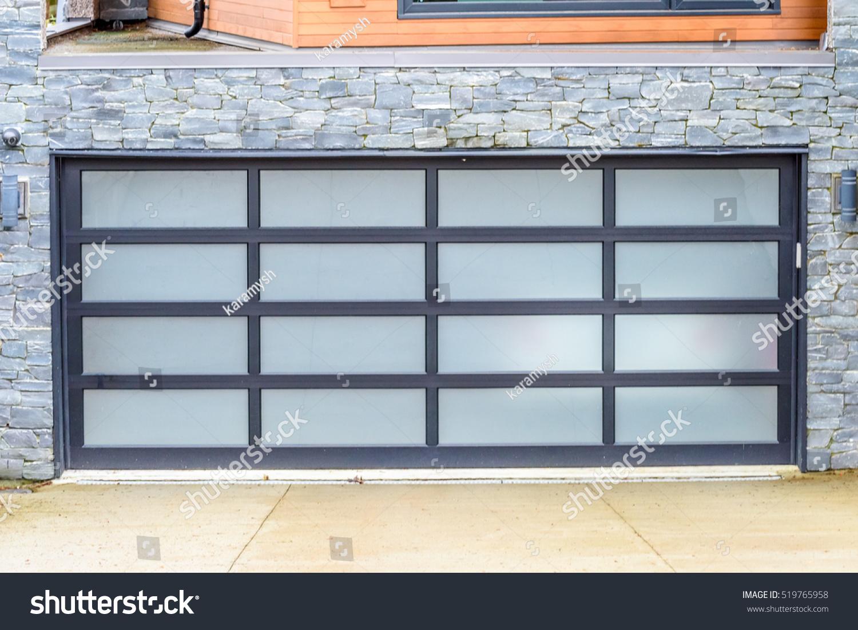 Garage door vancouver canada stock photo 519765958 for 10 x 7 garage door canada